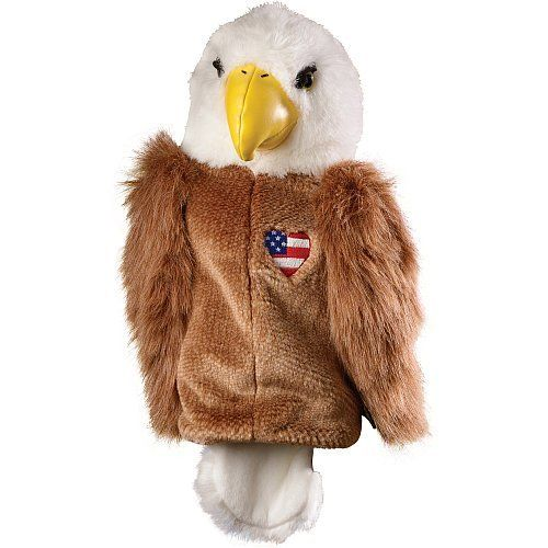 Golf Gifts and Gallery Bald Eagle with Heart Animal Headcover by Golf Gifts & Gallery. Save 7 Off!. $18.55. Let your personality shine through on the golf course. Clubhouse Collection animal headcovers make your golf bag easy to recognize. Accommodate up to 460 cc. Accommodate alll legal driversin use. Fabrics are designed to fend off wear and tear of the sun's UV rays. Deters theft, you won't be advertising what's under the cover! Bring out the animal in you on the course!