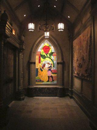 Be Our Guest Restaurant, Fantasyland, Magic Kingdom, Disney World,