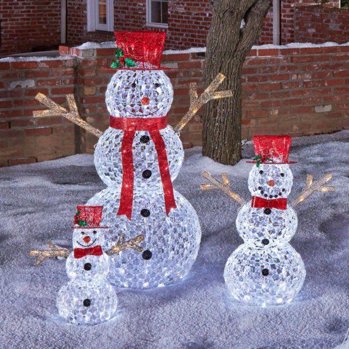 Pre Lit Snowman Outdoor Decor 66 best Christmas