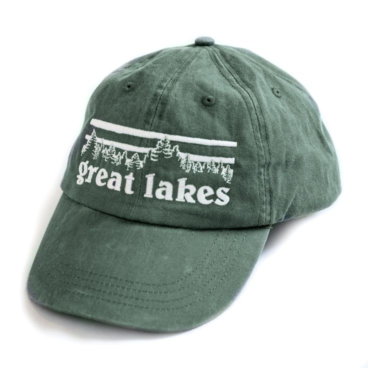 Great Lakes Tree line Hat