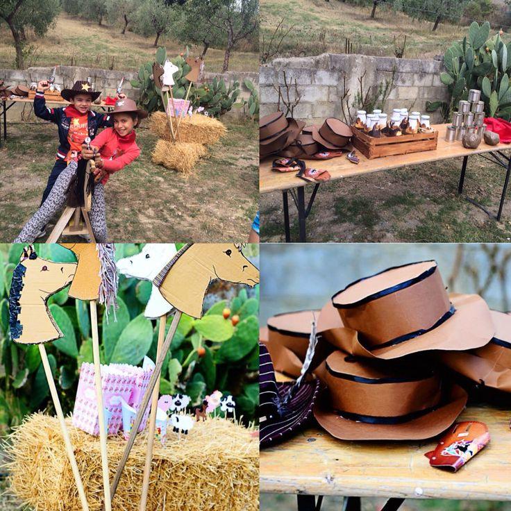 Giochi per bambini-party cowboy