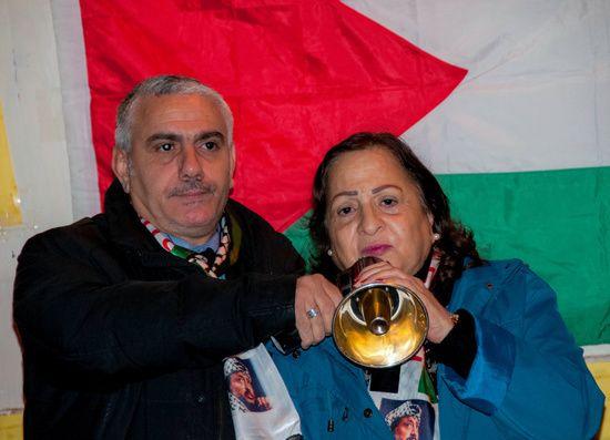 Commemoration of Yasser Arafat's Palestinian leaders in Rome organized Palestinian Embassy in Italy and the Palestinian Community in Rome and Lazio.