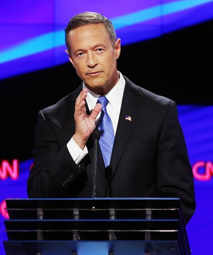 In his final 90 seconds, Martin O'Malley pointed out the HUGE difference between what happened last night and what unfolded during the two Republican debates