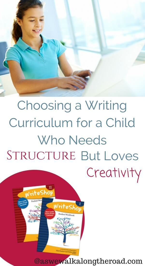 Homeschool writing curriculum for the child who needs structure but loves creativity. • language arts, composition, English curriculum for high school • #homeschooling