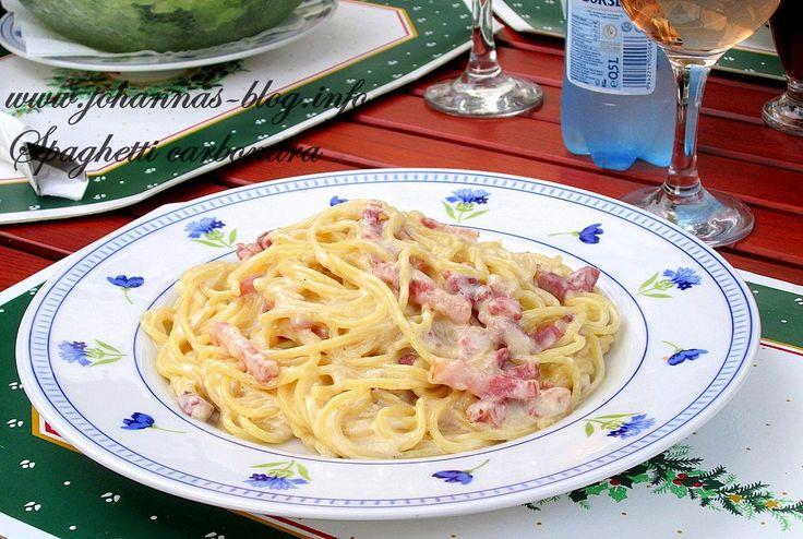 Johanna's recipes: Spaghetti alla carbonara