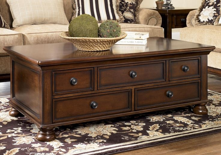 Wooden Dark Brown Rectangle Coffee Table | The Best Wood Furniture, table…