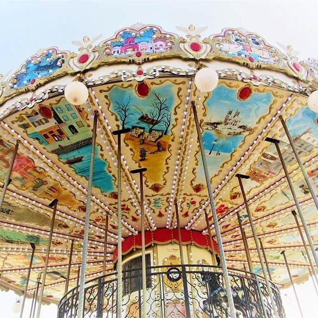 P A R I S  #carousel #paris #breathtaking #thatview #thisisparis #instamoments #instaparis #beautiful #picturesque #architecture #fun #afternoonstroll #melbournelifelovetravel #blueskies #vibrant #colourful #sopretty #visitparis #france #spring #scenic #explore #live #enjoy #love #travel #iloveparis #instagood #instatravel #instafun