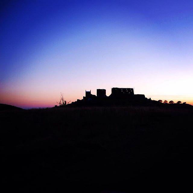 Sunset on Hammershus Castle, Bornholm #hammershus #bornholm #denmark #danmark #dänemark #Ruin #castle