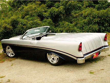 "chip foose customs   En MotorPasion   1956 Chevrolet Bel Air ""Double Huffer"" , 1957 ..."