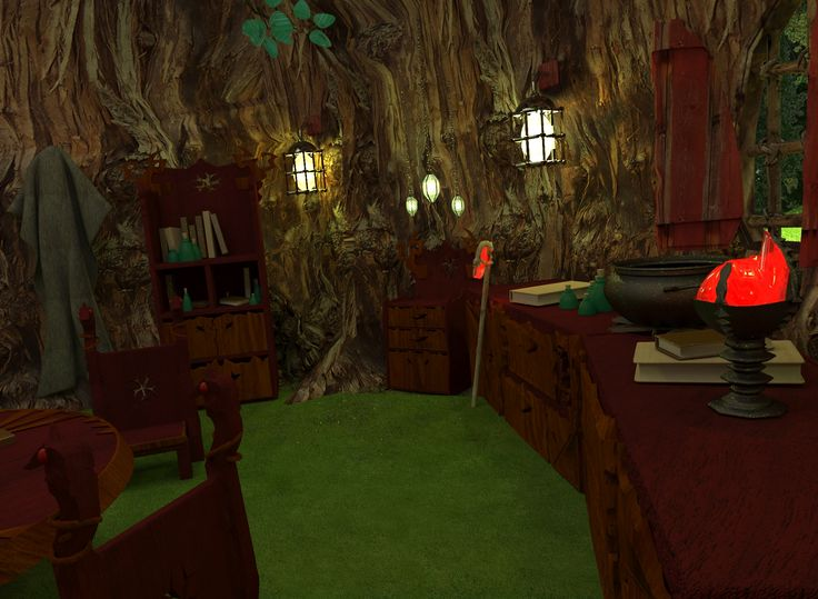 Ağaç ev iç 2