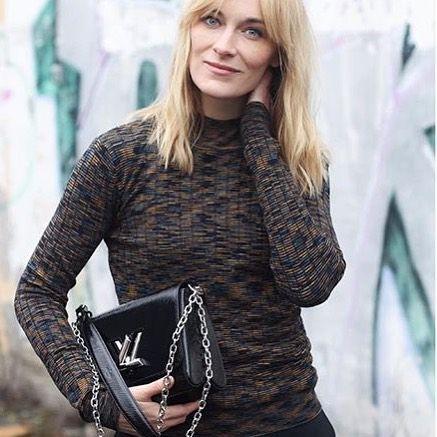 Arden turtleneck on @blamefashion #stormandmarie #knitwear #smprespring17 #womenwelove