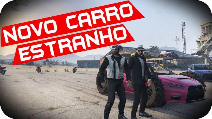 GTA 5 PC Online - NOVO CARRO ESTRANHO