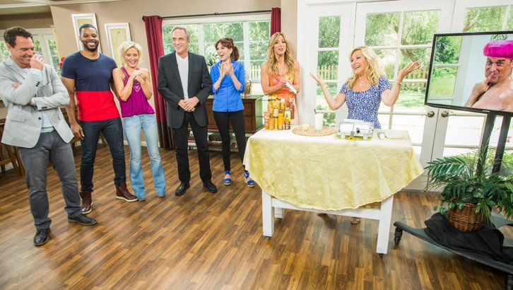 Self Tanning Tricks and Fixes @KymDouglas is here to fill you in on how to fix some self tanning mistakes. When you have a streaky self tan, Kym suggests using lemon juice to help even it out. She also suggest using curdled milk to lighten up the splotchy tan marks on your face. When it comes to applying self-tanner to your back, a paint roller will help it spread evenly. Finally, using white toothpaste will remove self-tanning stainWednesday, June 8th, 2016 | Home & Family | Hallmark…
