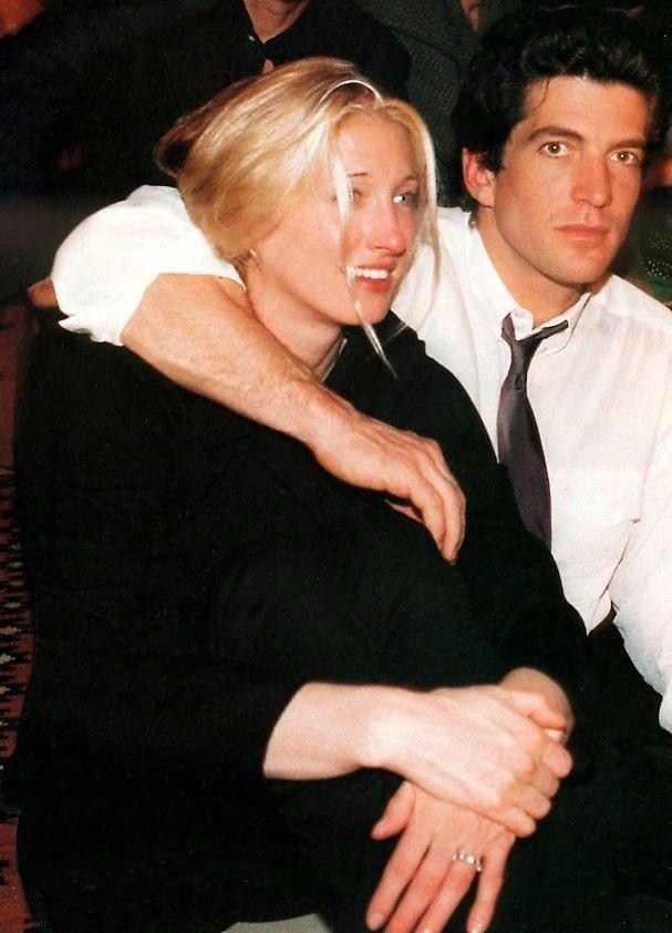 John Kennedy Jr. and Carolyn Bessette-Kennedy, 1996