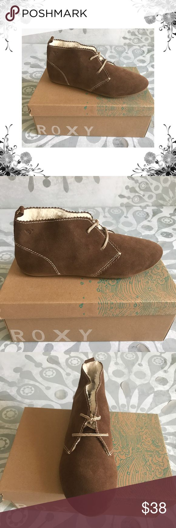 """Sz 8 Roxy 'Montauk' Brown Suede Loafers/Moccasins These Womens Roxy Montauk Loafers are guaranteed authentic. They're crafted with Leather/TPR, and the closure is Slip On. Manufacturer Color is Tan. New with box. Heel Height is approx 1/4"""". Platform Heightis 1/4"""". Fabric Type is Suede. Faux Fur Lined. Bundle for discounts! Thank you for shopping my closet! Roxy Shoes Moccasins"""