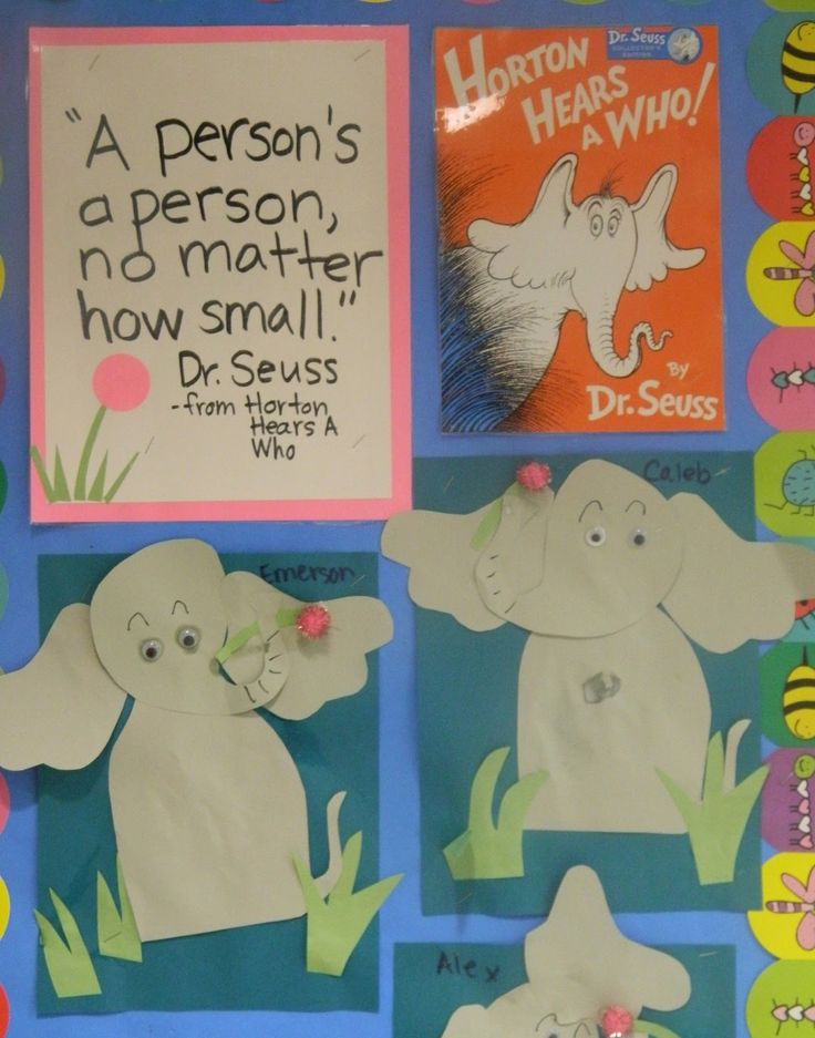 Horton, (Dr. Seuss), craft project, from the vintage umbrella
