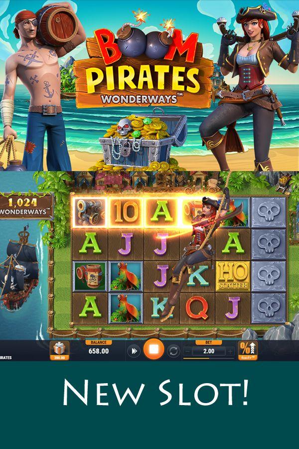 New Boom Pirates Slot Slots Games Slot Online Casino