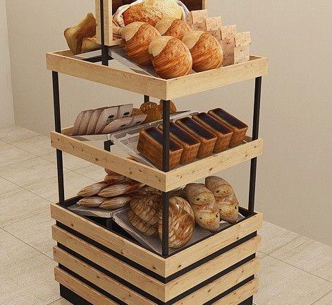 Витрины хлебные для компании «ТРИЭР»