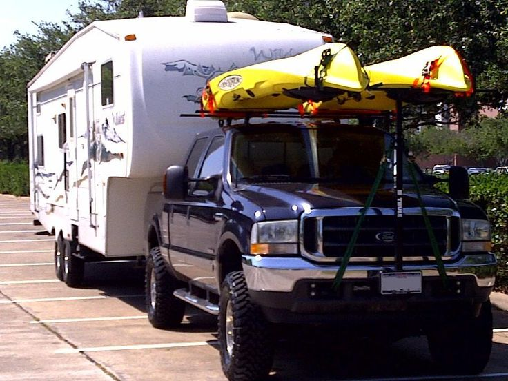 Click the image to open in full size. Kayak rack for