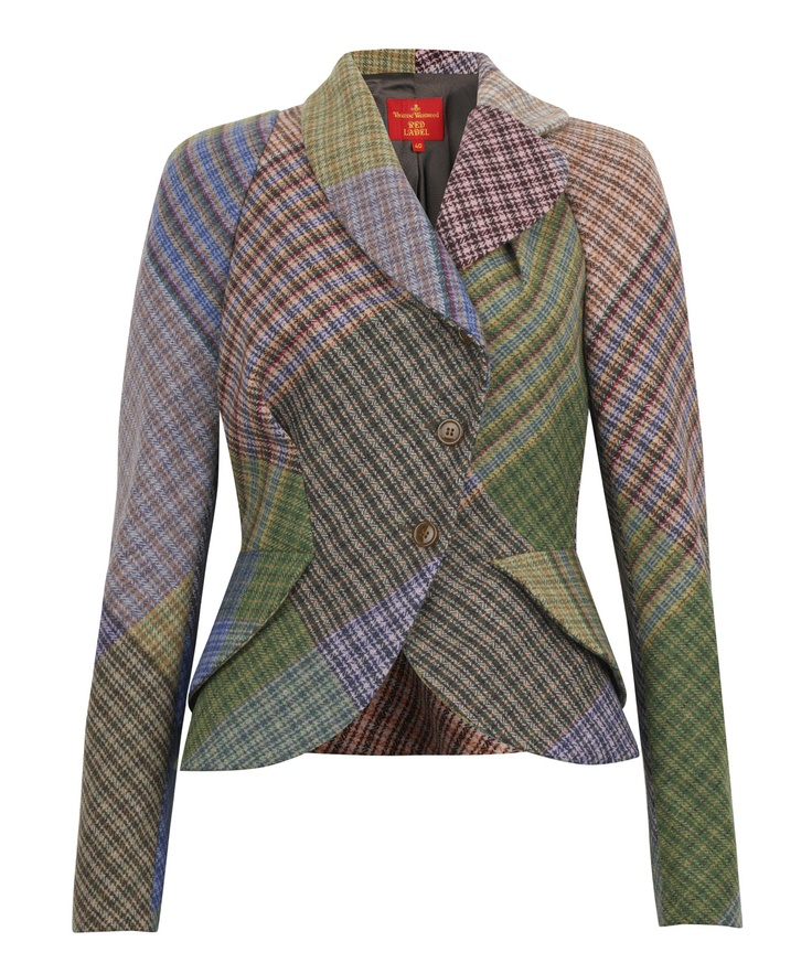 Harris Tweed jacket by Vivienne Westwood Red Label A/w 2011