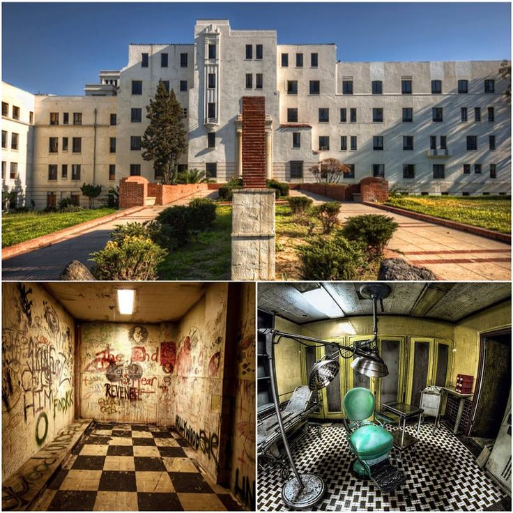 This is one of the most haunted hospitals in America.  It's possibly the coolest abandoned building we've seen!