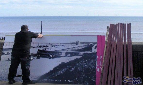 موقع الواجهة البحرية في رامسغيت يتحول إلى تحفة فنية Travel Landmarks Natural Landmarks