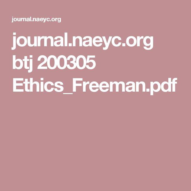 journal.naeyc.org btj 200305 Ethics_Freeman.pdf