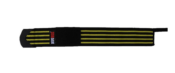 KUUBEE Pressurized Sports Safety Accessories Elastic Gym Wrist Band Weight Lifting Straps Fitness Sports Wraps