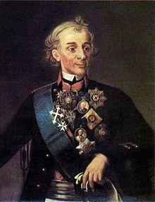 Alexander Suvorov.  Rock star general of 18th century Europe.