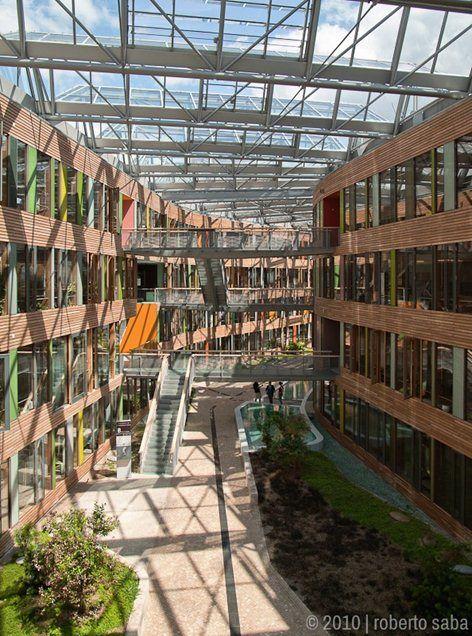 Federal Environment Agency, Dessau-Roßlau, 2005 - Sauerbruch Hutton Architects
