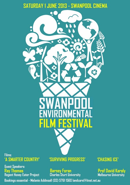Swanpool Environmental Film Festival flyer. Office of the Commissioner for Environmental Sustainability.