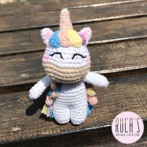 Patrón amigurumi unicornio: Pizquitas la unicornia