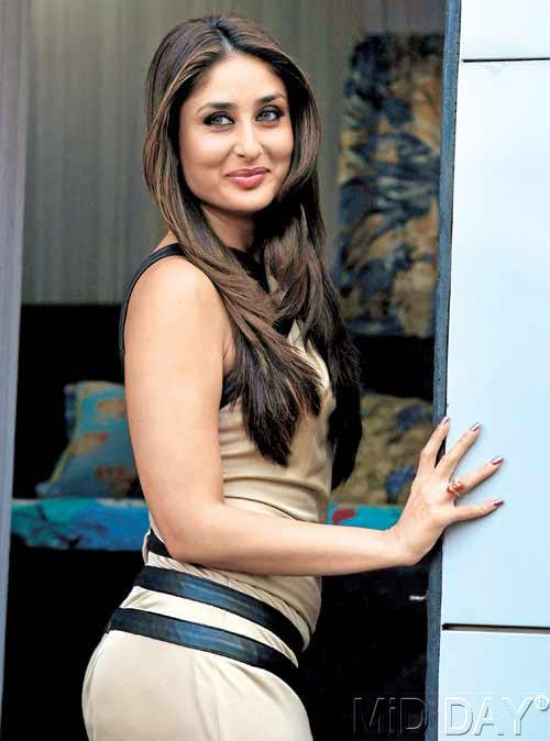 Beautiful girl with gorgeous hair. Kareena Kapoor.
