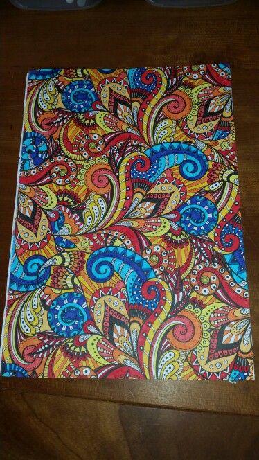Voorbeelden Van Kleurplaten Voor Volwassenen.Kleuren Voor Volwassenen Creatief Kleurboek Voor Volwassen Van De