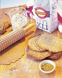 recipes for Swedish flatbread or crispbread which are in english so I can understand them. They look great too.