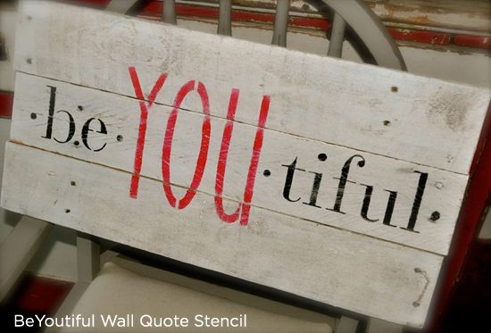 Best 25 wall stencil quotes ideas on pinterest pallet for Quote stencils for crafts