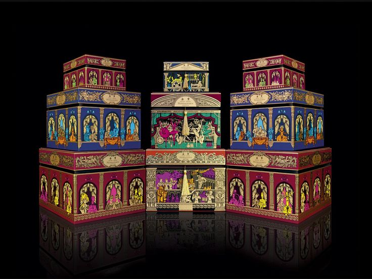 Designed by jkr (Jones Knowles Ritchie) , United Kingdom .    Introducing a theatrical Christmas for Penhaligon's   To welcome in the fes...