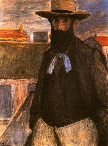 Rippl-Ronai, Jozsef (1861-1927) - 1899 Portrait of the Artist Aristide Maillol (Musee d'Orsay, Paris, France)