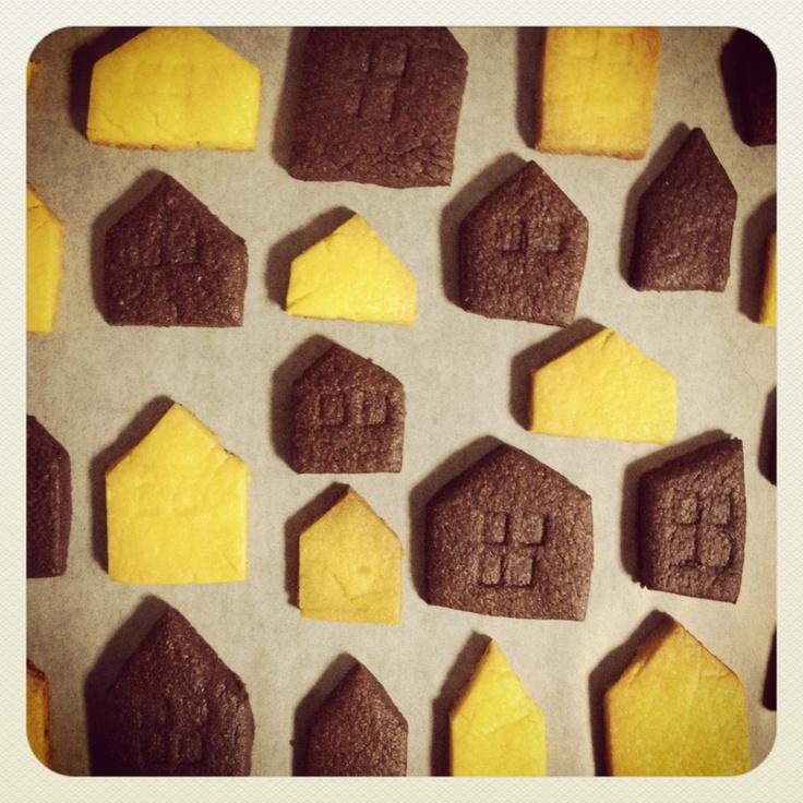 pumpkin & cocoa cookie
