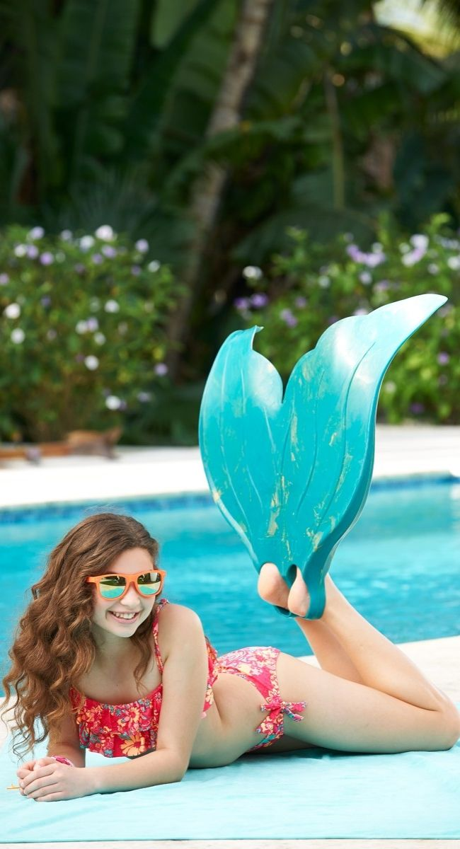 Explore the depths of the aquatic realm with the speed and agility of a mermaid. Created by a real life professional mermaid, underwater adventure awaits.