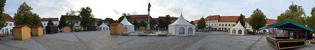 Fürstenfeld Hauptplatz Panoramafoto | Flickr - Fotosharing!