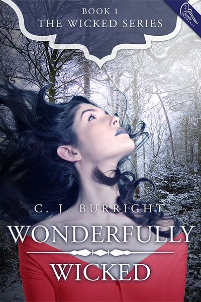 Wonderfully Wicked, by C. J. Burright (book cover design by Morgan Media)