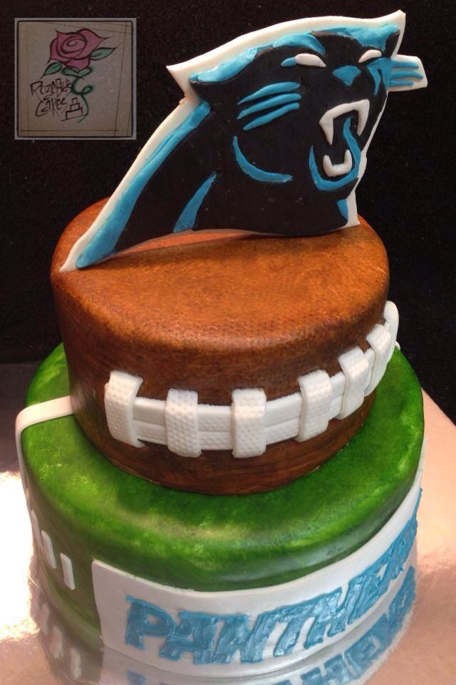 Cake Decorating Penrith : 78+ ideas about Carolina Panthers Cake on Pinterest Nfl ...