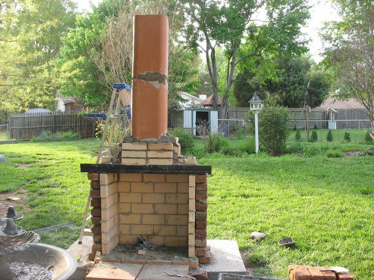Exquisite Building Outdoor Fireplace Exquisite How To ... on Building Outdoor Fireplace With Cinder Block id=13583