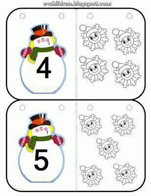 * Sneeuwpoppen: Tellen! 3-6