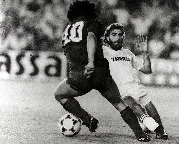 Golazo de Maradona contra el Real Madrid.