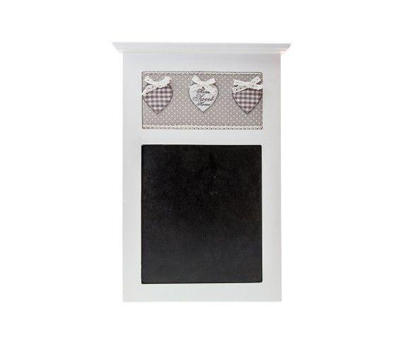22,00 € - Lavagnetta Home Sweet Home, stile Shabby Chic, simpatica idea per bomboniera matrimonio, cm. 24.