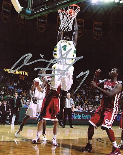 Quincy Acy Autographed Baylor BEars 8x10 Photo - Sports Memorabilia