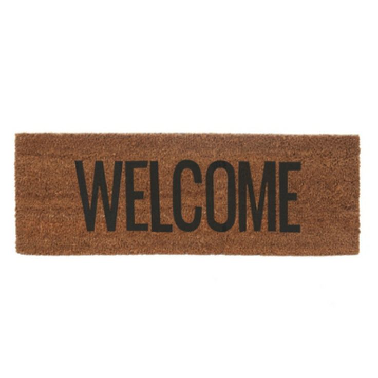 Welcome Mat - Black
