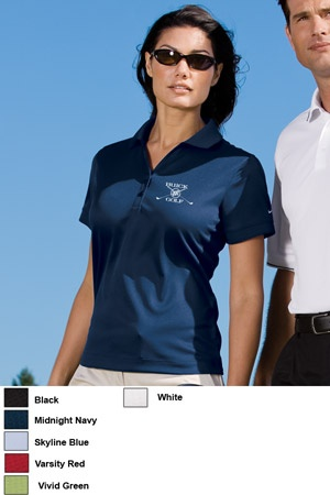 #nike #ladies #sports #golf #apparel $38.21 Features: Nike has engineered a sport shirt that takes comfort to the next level. The Dri-FIT fabric gives superior moisture management, while the stitch-trimmed shoulder panels and gussets make a distinctive difference. The contrast Swoosh design trademark is embroidered on the left sleeve. Made of 4.7-ounce, 100% polyester Dri-FIT fabric. Pearlized buttons are selected to complement the shirt color.